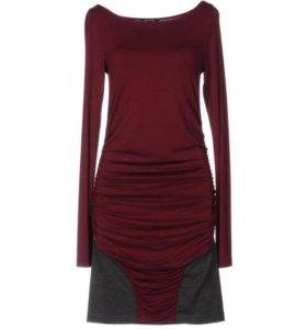 Платье вечернее короткое 46-48 новое