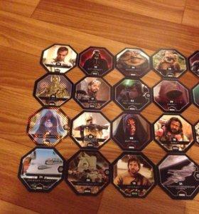 Карточки звездные воины