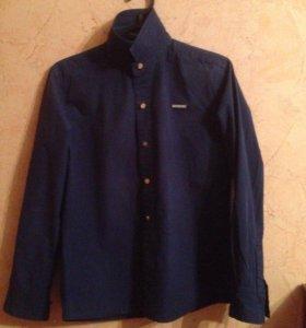 Новая рубашка, синяя