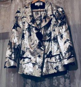 Пиджак яркий необычный!