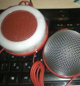 Набор караоке от Pringles (колонка + микрофон)