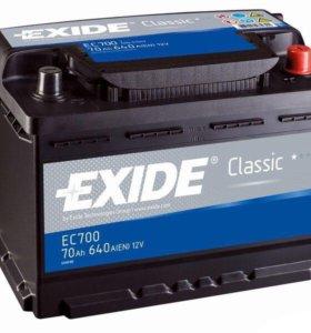 Автомобильный аккумулятор EXIDE