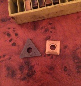 сменные твердосплавные пластины для резцов