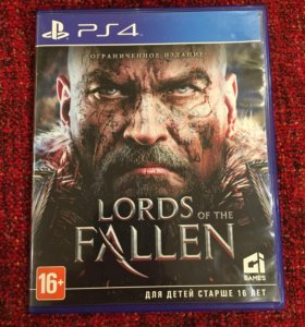 PS4 the lords of fallen