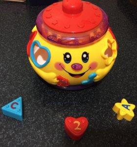 Обучающая игрушка Веселый горшочек