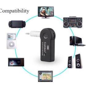 Новый Bluetooth ресивер авто aux psp магнитола