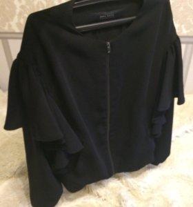 накидка пиджак zara
