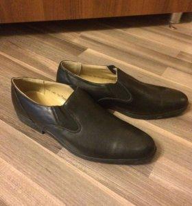 Кожаные туфли 46 размер
