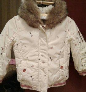 Куртка Осень-Зима Next 104p Новая