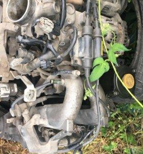 Двигатель Subaru ej18 в разбор