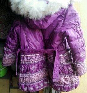 Детская куртка на девочку.