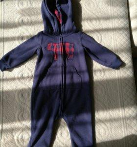 Детский костюм на мальчика флисовый