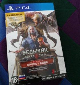 Игра на PS4 ведьмак( обмен не интересует)