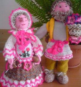 Куклы Автрские-ручной работы
