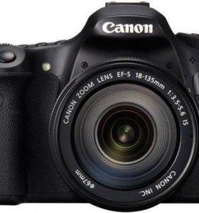 Зеркальный фотоаппарат Canon 60d + EF 50mm 1.4 UMS