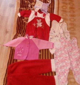 Одежда на девочку даром