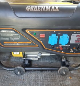 Бензиновый генератор greenmax. 2500