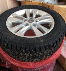 Комплект зимних колес Opel