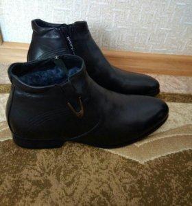 Зимние ботинки 44 размер