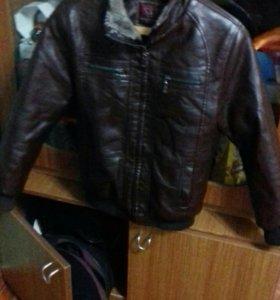 Куртка на 12 лет (теплая)