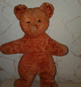 Плюшевый медведь времен СССР