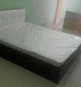 Новая кровать от производителя с МАТРАСОМ