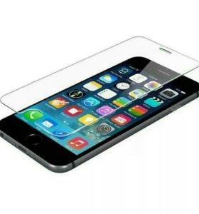 Стекло защитное на айфон 6,6S