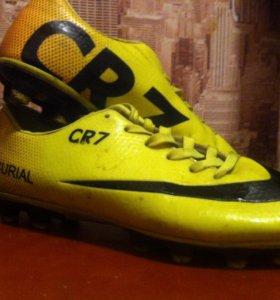 Бутсы Nike mercurial CR7