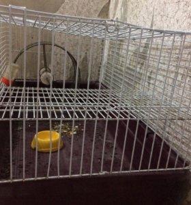 Большая клетка для шиншиллы или кролика