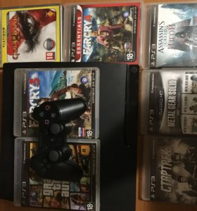 PlayStation 3 с 8 играми