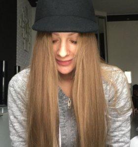Фетровая чёрная кепка с ушками H&M