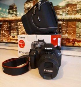 Зеркальный фотоаппарат Canon 1200D