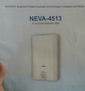 Газовый водонагреватель Neva-4513 б/у