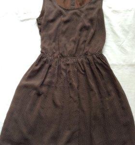 OSTIN классическое платье в горошек