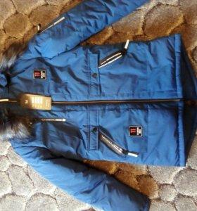 Куртка SABERI BBS зима новая 46 размер