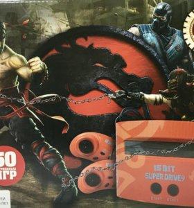 Игровая приставка Sega Mortal Kombat 50в1