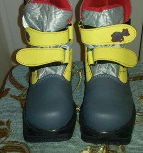 Лыжные ботинки 36 размер. Новые.