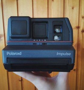Фотоаппарат Polaroid Impulse Portrait (серый)