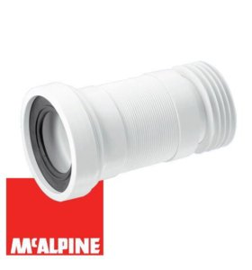 Гофра для унитаза McAlpine WC-F23R