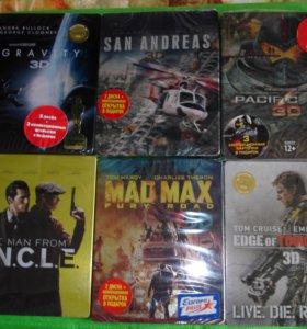 Blu-ray диски в металлических боксах