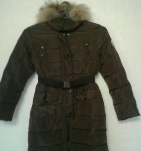 Пуховое пальто Moncler 140-146 торг