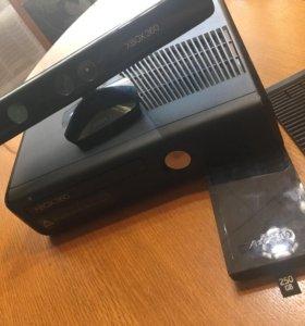 XBOX 360 250GB+kinect
