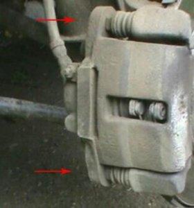 Суппорт тормозной в сборе ваз2108—15