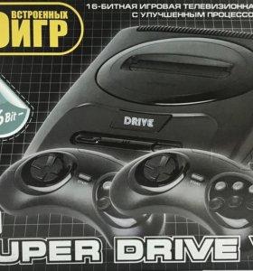 Игровая приставка Sega Super drive 7 30в1