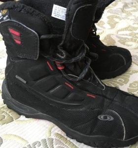 Продаются подростковые ботинки SALOMON