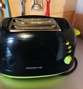 Тостер Polaris почти новый использовался пару раз!
