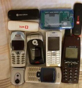 Сотовые телефоны б/у на запчасти
