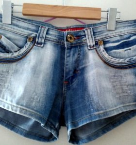 джинсовые шорты размер 40-42