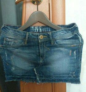 Юбка джинсовая 42 размер
