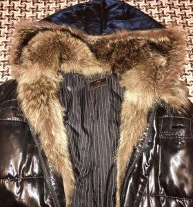 Куртка зима нат мех